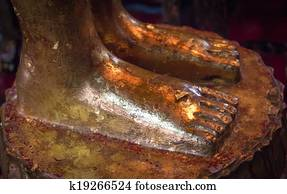 Foot Of Reclining Buddha