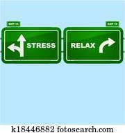 beanspruchen, und, entspannen