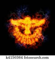 Fiery Dove of the Holy Spirit.