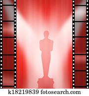 Oscar Movie gold