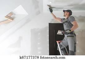 Finishing Drywall Walls