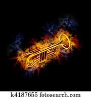 Fiery trumpet.