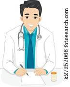 Man Doctor Prescription