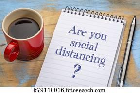 ar, sie, soziales, distancing?