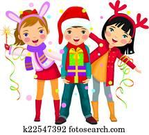Children's Christmas party a surpri