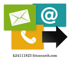 Contact Us Graphic Icons