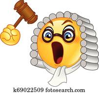 Judge emoticon