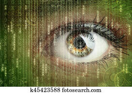 Digital data and eye