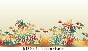 koralle clipart illustrationen koralle clip art vektor eps zeichnungen von mehr als 15. Black Bedroom Furniture Sets. Home Design Ideas
