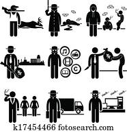 Illegal Activity Crime Jobs