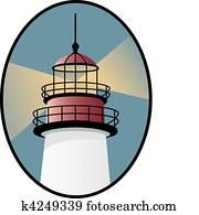 leuchtturm, symbol