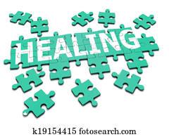 3d Healing jigsaw