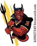 devil football mascot