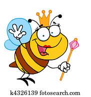 Friendly Queen Bee