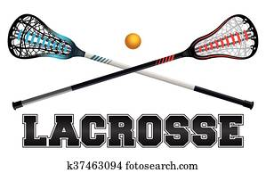 Lacrosse Design Illustration