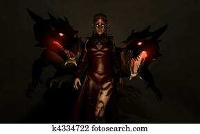Sorceress and Dragons