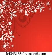 weihnachten, rahmen