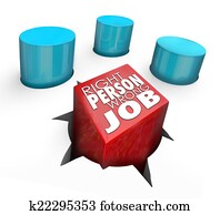 Right Person Wrong Job Square Peg Round Hole Bad Hire