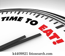 Time to Eat - Clock