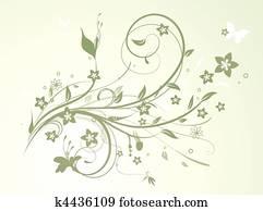 Blumenranke Clip Art Lizenzfrei 1 148 Blumenranke Clipart Vektor
