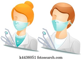 Dentist Avatars