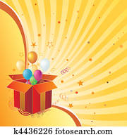 gift box and celebration