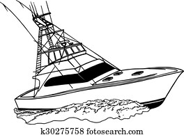 Offshore Fishing Sport Boat