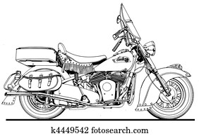 48 Indian Chief Side View