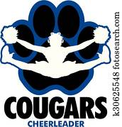 cougars cheerleader