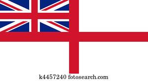 British Royal Navy flag
