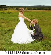 Groom to genuflect near bride