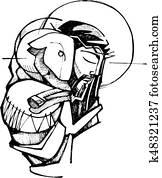 Jesus Christ Good Shepherd