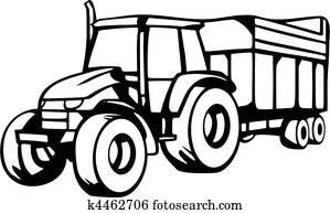 Clipart Landwirtschaft Fahrzeuge K4475660 Suche Clip Art