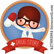 Adorable Drug Store banner