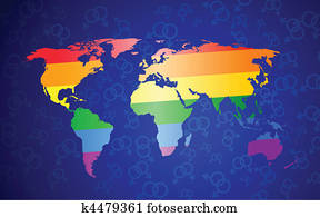 global gay pride concept