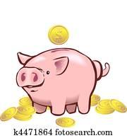 piggy bank moneybox