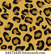 Seamless tiling animal print patter