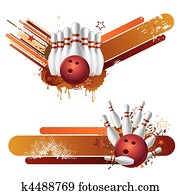 bowling strike design