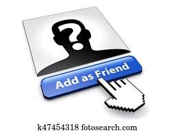 Social Media Network Safety Concept