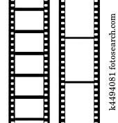 vektor, kamera- film