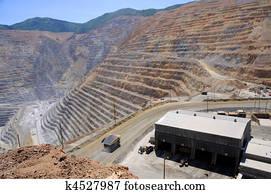 Mining Equipment Maintenance Shop at Bingham Kennecott Copper Mine