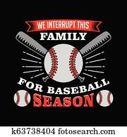 Baseball Saying and Quote, best for print design