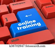 On line training