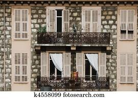 Banque d 39 image espagne espagnol b timent balcon balcons fen tre fenetres u10038635 for Fenetre en espagnol