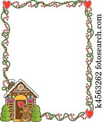 Gingerbread House Corner