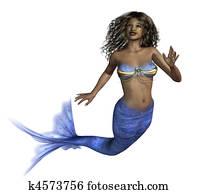 African Mermaid