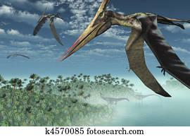 Prehistoric Morning - Flying Overhead