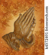 Thanksgiving Praying hands