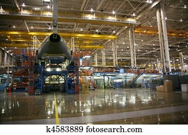 Airplane Manufacturing Facility