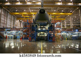 Airplanes in Production